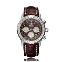 Breitling Navitimer Automatic Stainless Steel Bronze Dial Mens...