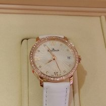 Blancpain WOMEN ULTRAPLATE WHITE, RED GOLD WITH DIAMONDS