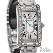 Cartier Tank Américaine Ladies' Watch Small 18k White Gold...