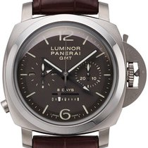 Panerai Luminor 1950 Chrono Monopulsante 8 Days Titan GMT...
