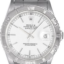 Rolex Turnograph Datejust Men's Steel Watch 16264