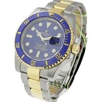 Rolex Used 116613_blue_used Submariner Two-Tone with Ceramic...