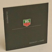 TAG Heuer Guarantee Booklet