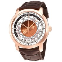 Vacheron Constantin Traditionnelle World Time 18 Carat Rose...