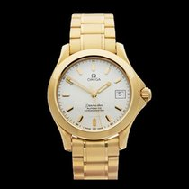 Omega Seamaster Chronometer 18k Yellow Gold Gents 21012100