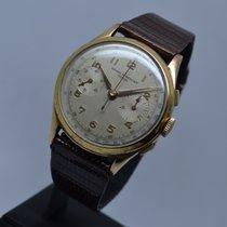 Baume & Mercier Vintage Manual Chronograph 18K Gold...