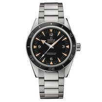 Omega Seamaster 300 Automatic Black Dial Men's Watch...