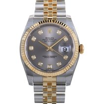Rolex Oyster Perpetual Datejust 36mm Fluted Bezel 116233 gdj