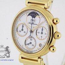 IWC Da Vinci Chronograph  solid 18k Gold  3736