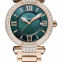 Chopard Imperiale 18K Rose Gold, Green Tourmalines and...