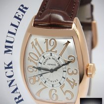 Franck Muller 18k Rose Gold Cintree Curvex Relief Automatic...