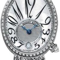 Breguet Reine de Naples 8918 18K White Gold & Diamonds...