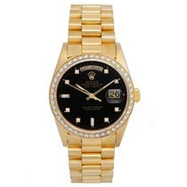 Rolex President Day-Date Men's Yellow Gold Watch Factory...