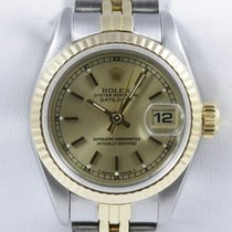 Rolex Oyster Perpetual Lady Datejust Stahl Gold Datum Quickset
