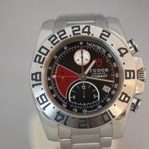 Tudor Iconaut Chronograph GMT Automatik 43mm Schwarz Rot Index