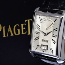 Piaget Emperador Retrograde Automatic 18k White Gold Mens...