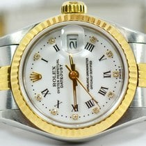 Rolex Datejust Ladies Two Tone With Factory Diamond Dial