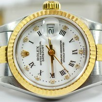 ロレックス (Rolex) Datejust Ladies Two Tone With Factory Diamond Dial