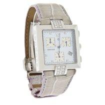 Concord La Scala Ladies MOP Diamond Purple Strap Chronograph...