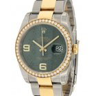 Rolex Datejust 116243 In Gold And Steel With Diamond, 36mm