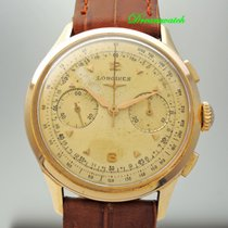 Longines Chronograph Vintage 18k Rotgold Cal.CH30