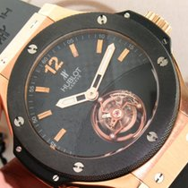 휘블로 (Hublot) Big Bang Tourbillon Solo Bang 305.PM.131.RX 18K...