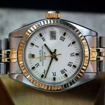 Rolex Steel & 14t Gold Oyster Datejust