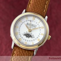 Blancpain Lady Villeret Vollkalender Stahl / Gold Mond Damenuhr