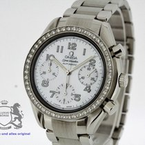 Omega Speedmaster Automatic Ladies Diamond Bezel MoP Dial Ref....