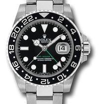 Rolex 116710 Oyster Date GMT-Master II Stainless Steel &...