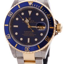 Rolex SUBMARINER OYSTER PERPETUAL DATE 18KA Gold&Steel...