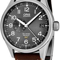 Oris Big Crown Pilot GMT 74877104063LS05