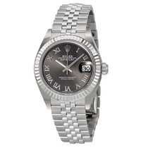 Rolex Lady Datejust Rhodium Dial Steel and 18K White Gold Watch