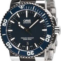 Oris 0173376534155-0782601PEB Aquis Automatik 43mm 30ATM