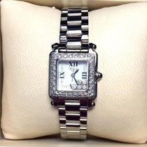 Chopard Happy Sport Ss Luxury Ladies Watch W/ Floating...