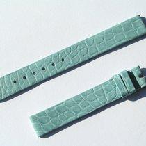Chopard Croco Band Strap Blue 12 Mm 70/105 New C12-1 -70%
