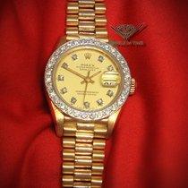 Rolex Datejust President 18k Yellow Gold Champagne Diamond...