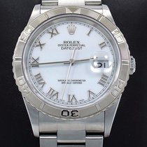 Rolex Datejust Turn-o-graph 16264 Date Oyster 18k White Gold...