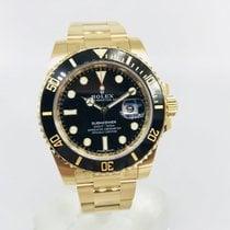 Rolex Full Yellow Gold Submariner Black dial