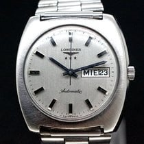 Longines Automatic White Dial DAY/DATE ca.1970
