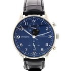 IWC Men's IWC Portuguese Chronograph Stainless Steel Watch...