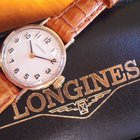 Longines Baume 9K gold ladies watch in box