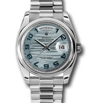 Rolex Used 118206_Used_Iceblue_Arabic 36mm Day Date President...