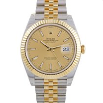 Rolex Oyster Perpetual Datejust Mens Automatic Watch 126333 chij