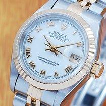 롤렉스 (Rolex) Rolex 18K Gold & S/S Roman Dial Automatic...