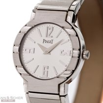 Piaget Polo Lady Ref-P10115 18k White Gold Papers Bj-2003