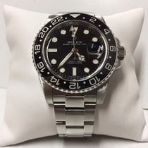 Rolex GMT master ll 116710  black dial stainless steel