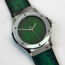 Hublot Classic Fusion Berluti Green 45mm Limited to 200 pieces