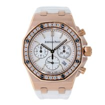 Audemars Piguet AP Offshore Lady 37mm Rose Gold Diamond Bezel