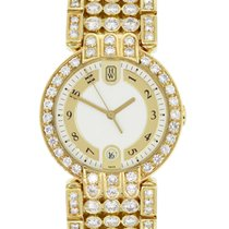 Harry Winston Premier 18k Gold Diamond Gents Watch